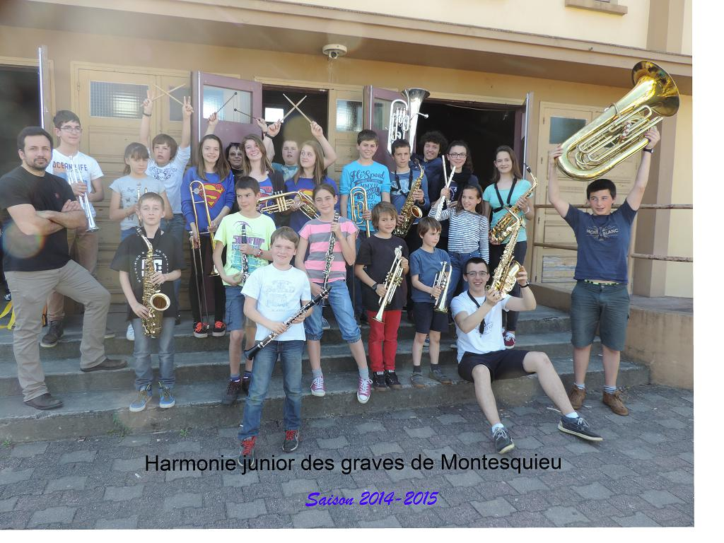 Harmonie junior 2014-2015